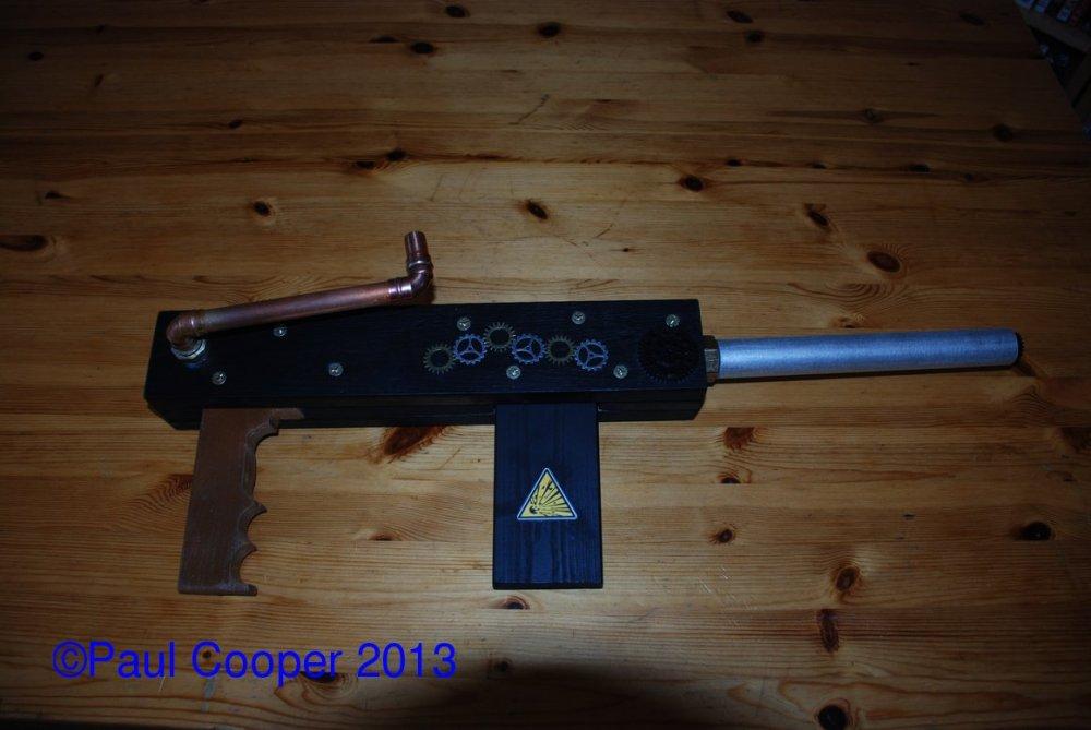 My steampunk gun