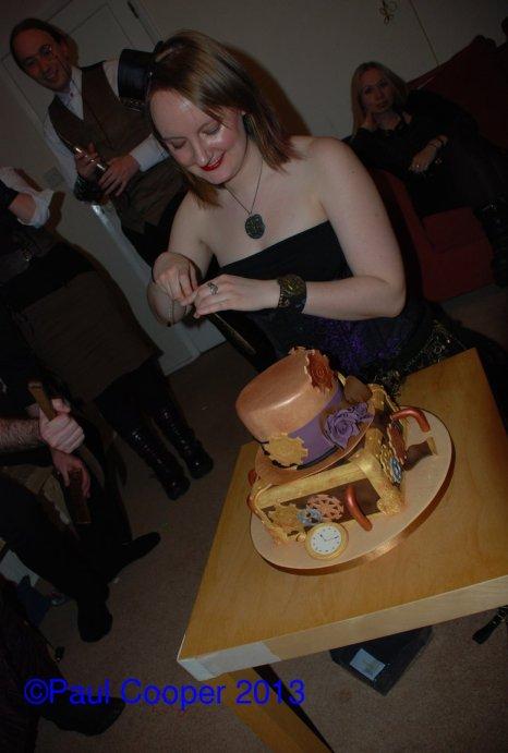 Cake cutting!