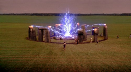 What Stonehenge looks like when it is intent on destroying the world