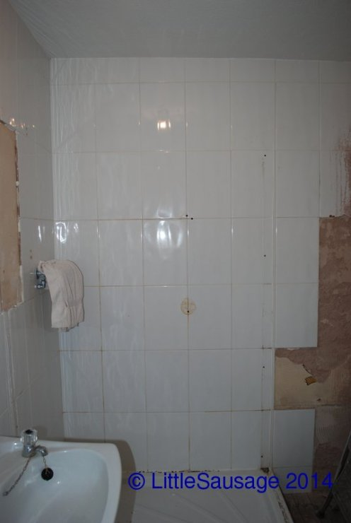 Stripping off the tiles