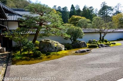 Zen garden at Nanzen-ji