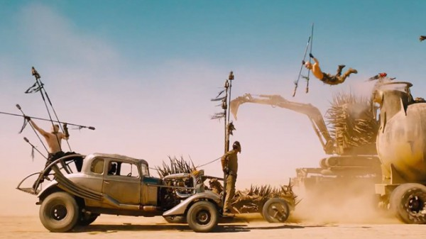 Just a normal Sunday drive on the Fury Road.