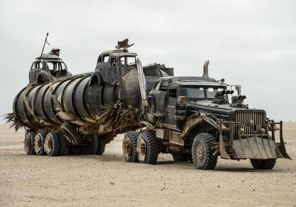 Furiosa's war rig.