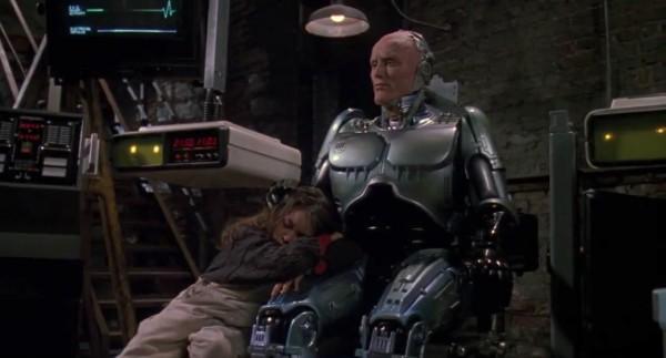 Robocop is not a pillow!