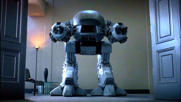 ED209 is what I would call a robot. Not sure I'd call it a cop though!