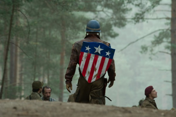 Cap demonstrates the badass back principle