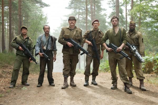 Cap's backup squad
