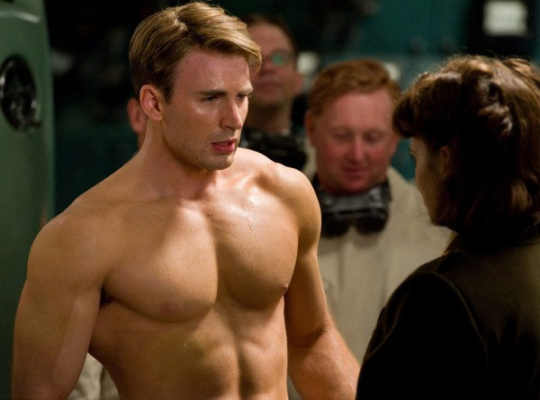 Buff Captain America proves that the little guy can...err, bugger off