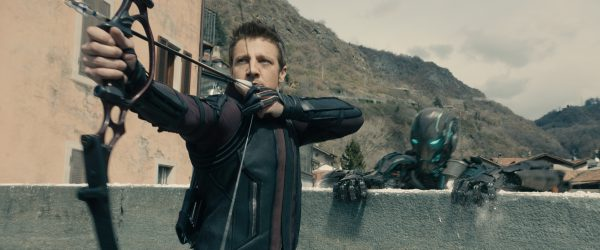 Hawkeye gets some more attention in this film.